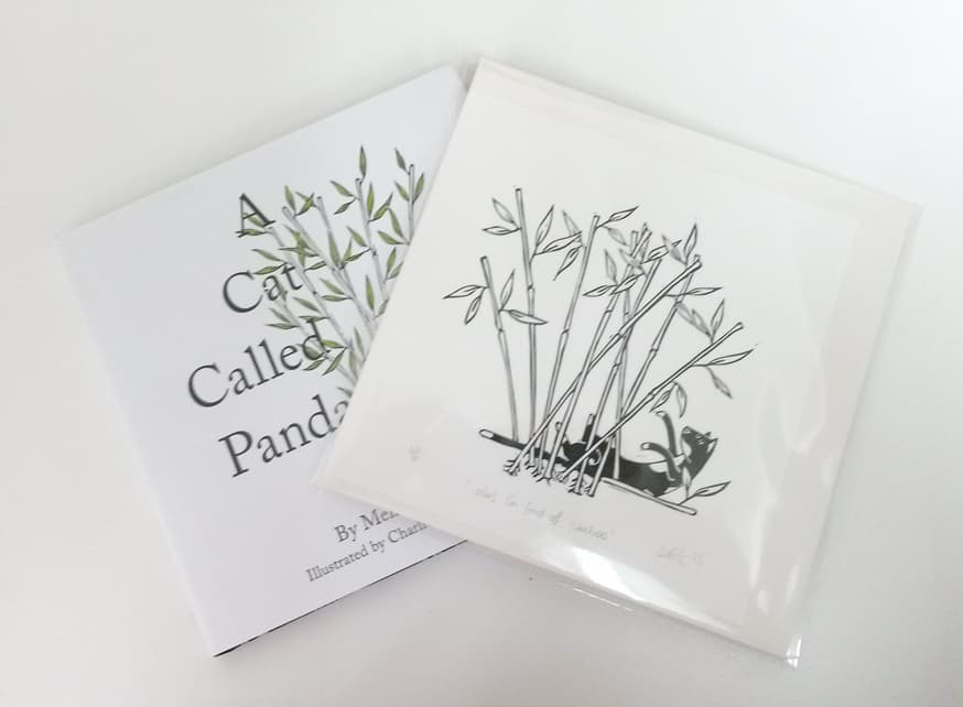 Cat Called Panda Print giveaway1
