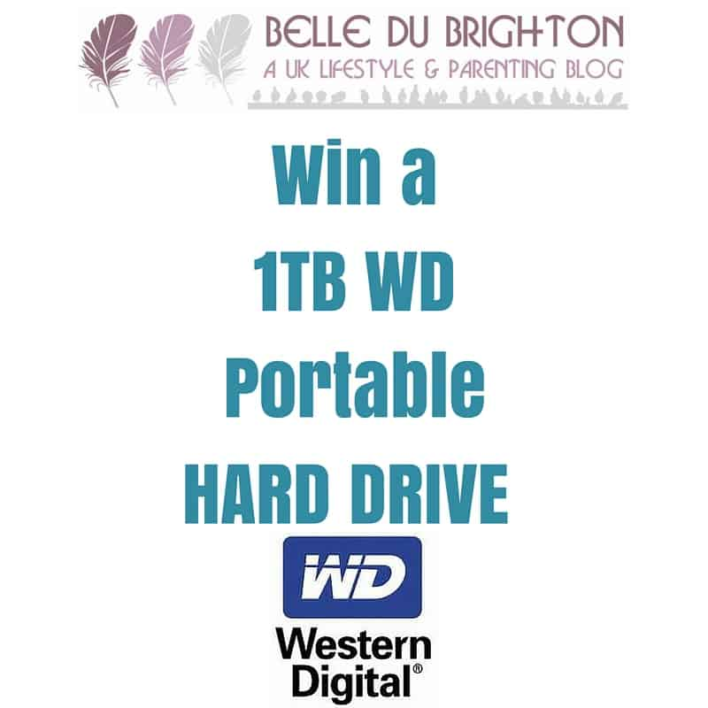 Win a portable hard drive