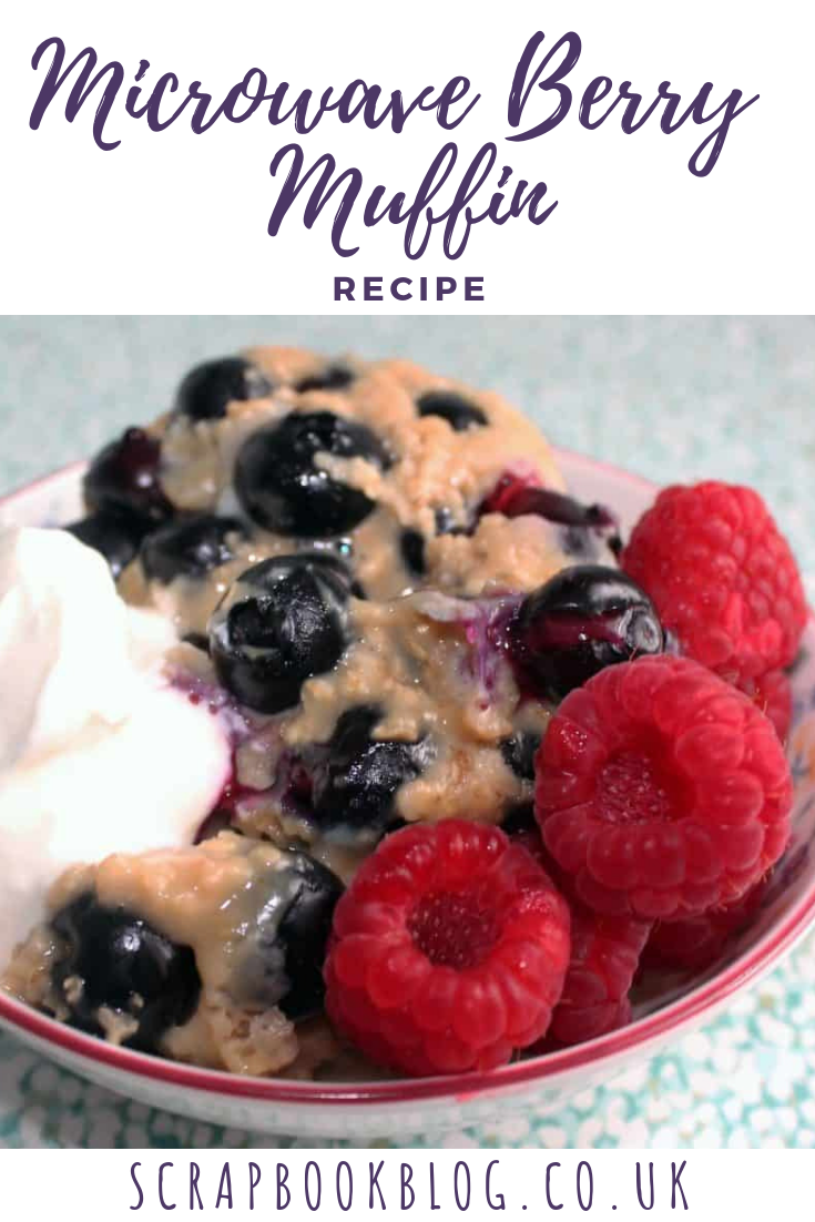 microwave berry muffin recipe
