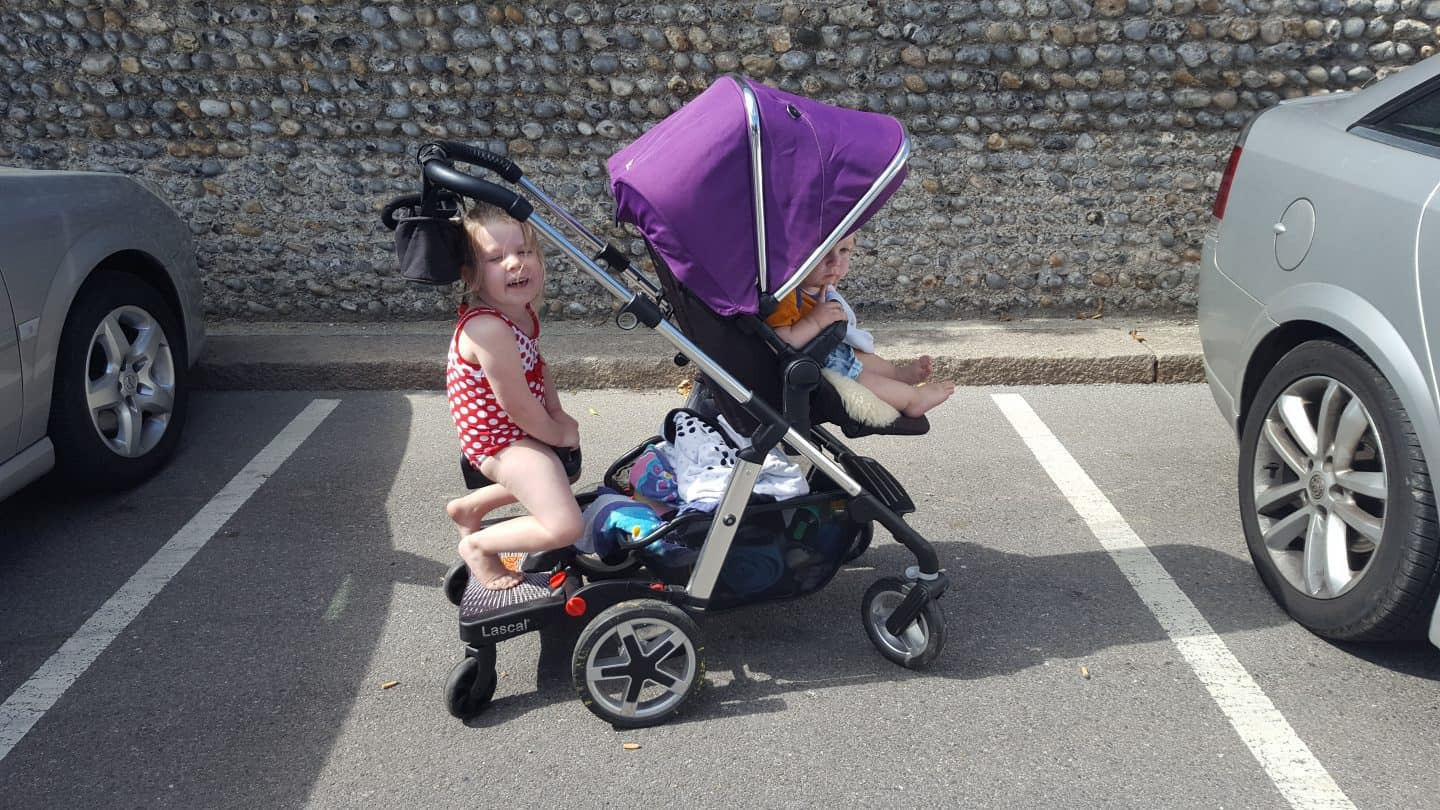 Review Lascal Buggyboard Maxi Plus With Saddle Scrapbook Blog