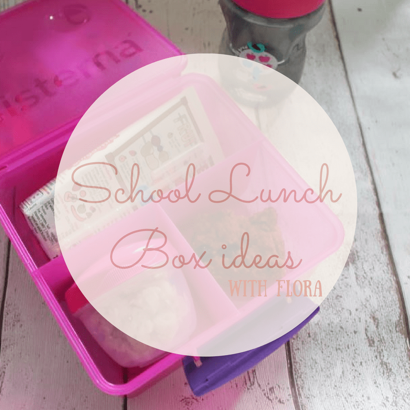 school lunchbox ideas flora