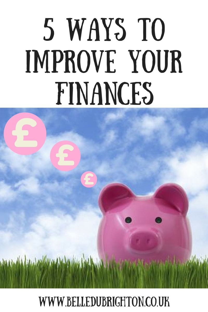 5 ways to improve your finances