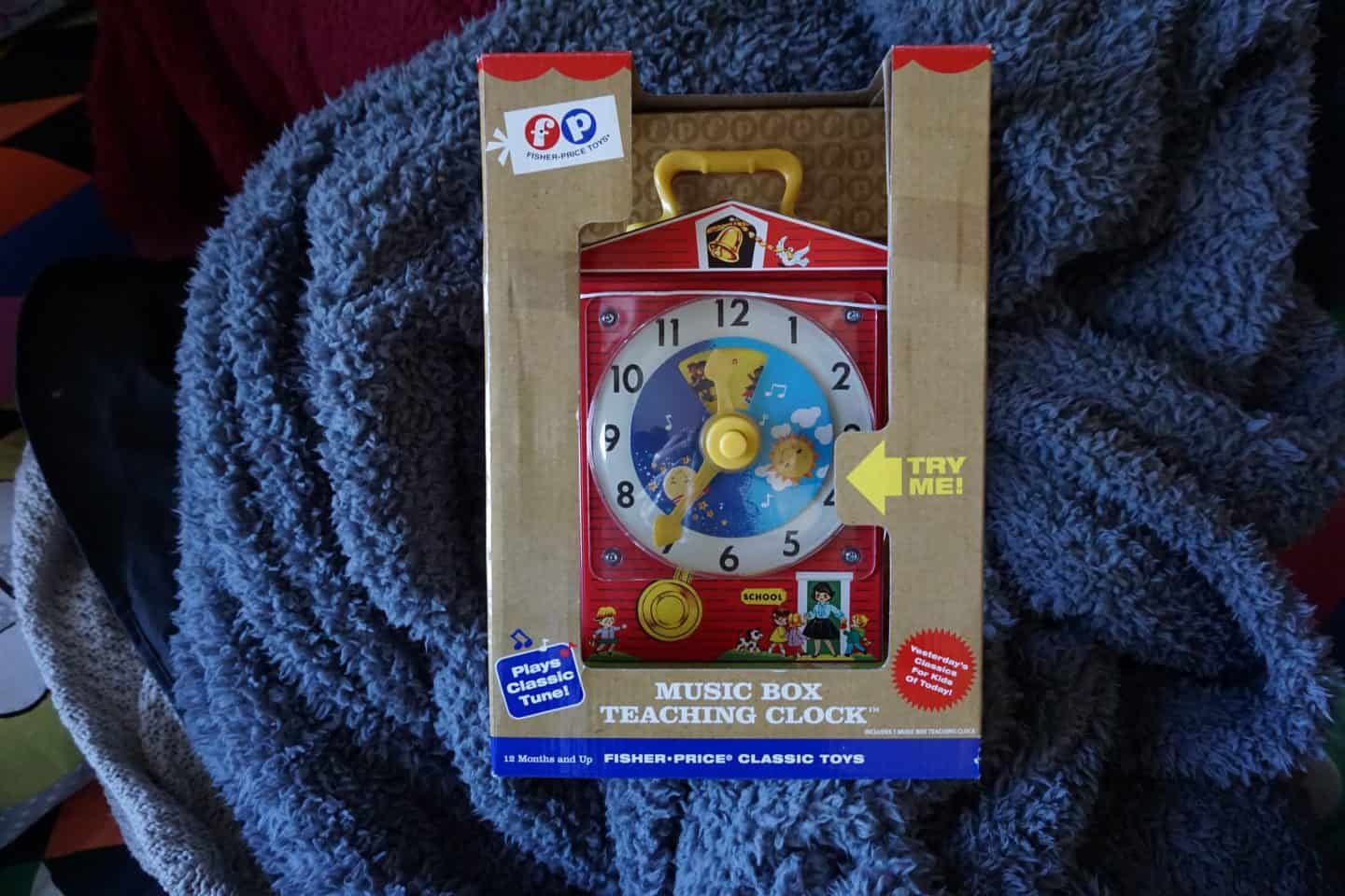 Fisher Price Learning Clock