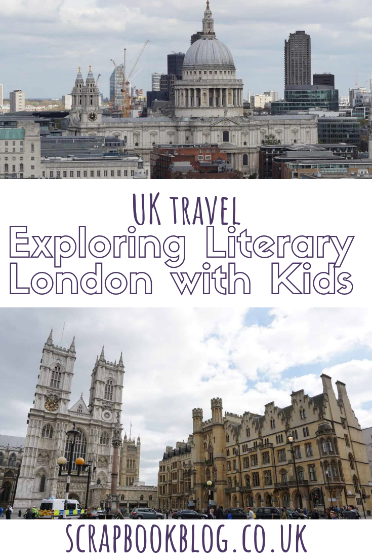 exploring literary london with kids