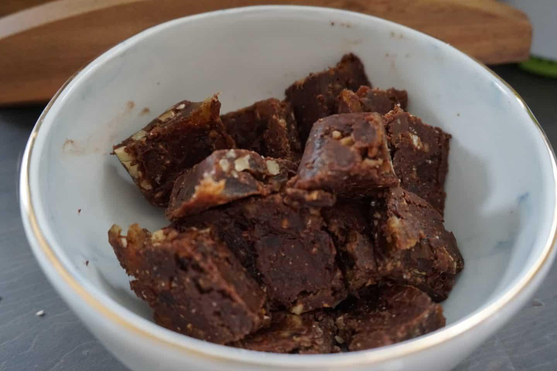 chocolate walnut bites recipe