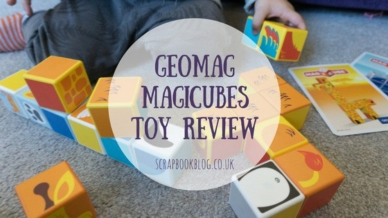 geomag magicubes toy review