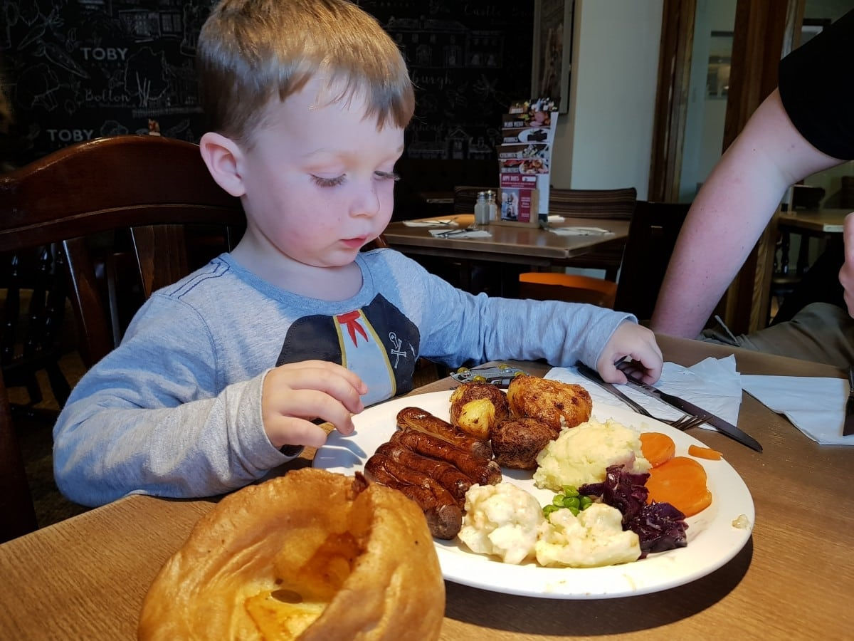 toby carvery downlands worthing