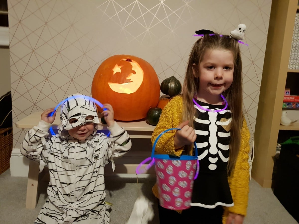 Sunday Scrapbook – Tonsils & Halloween