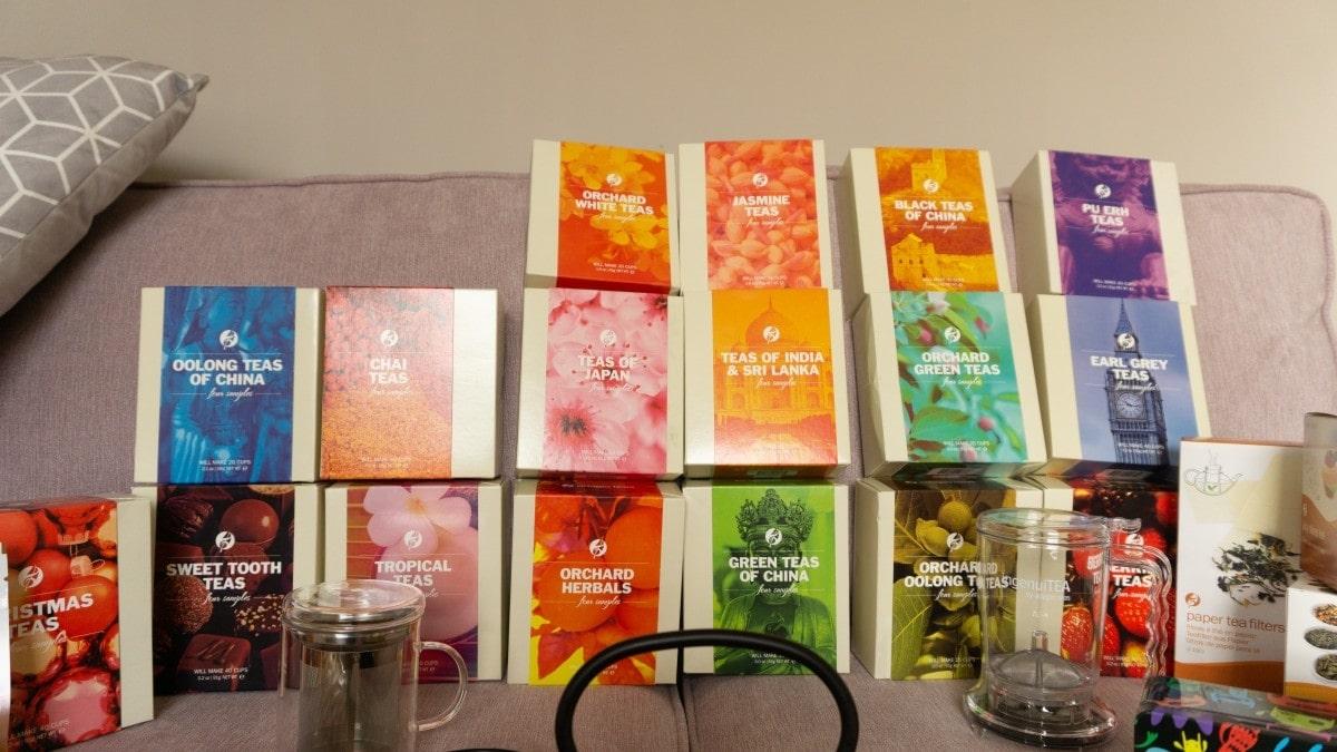 Gourmet Tea from Adagio Teas & Giveaway!