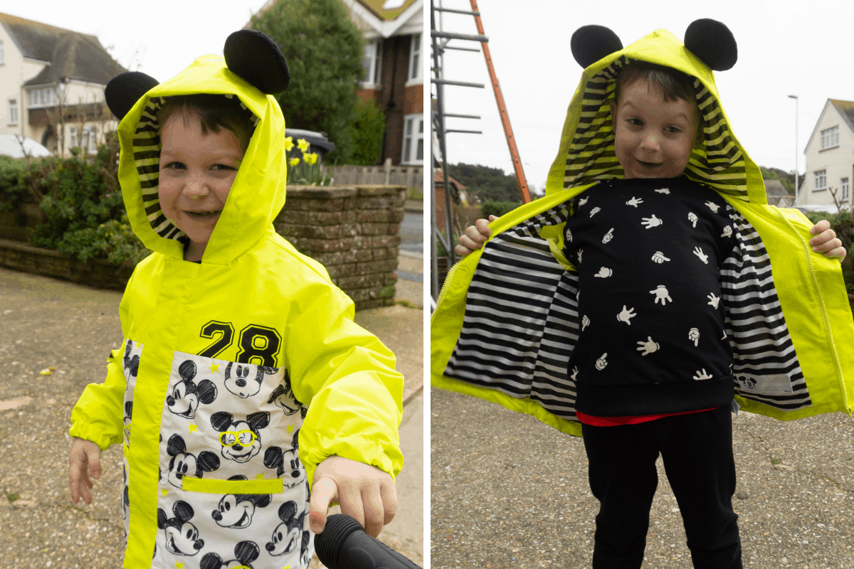 disneyStore kids clothing review