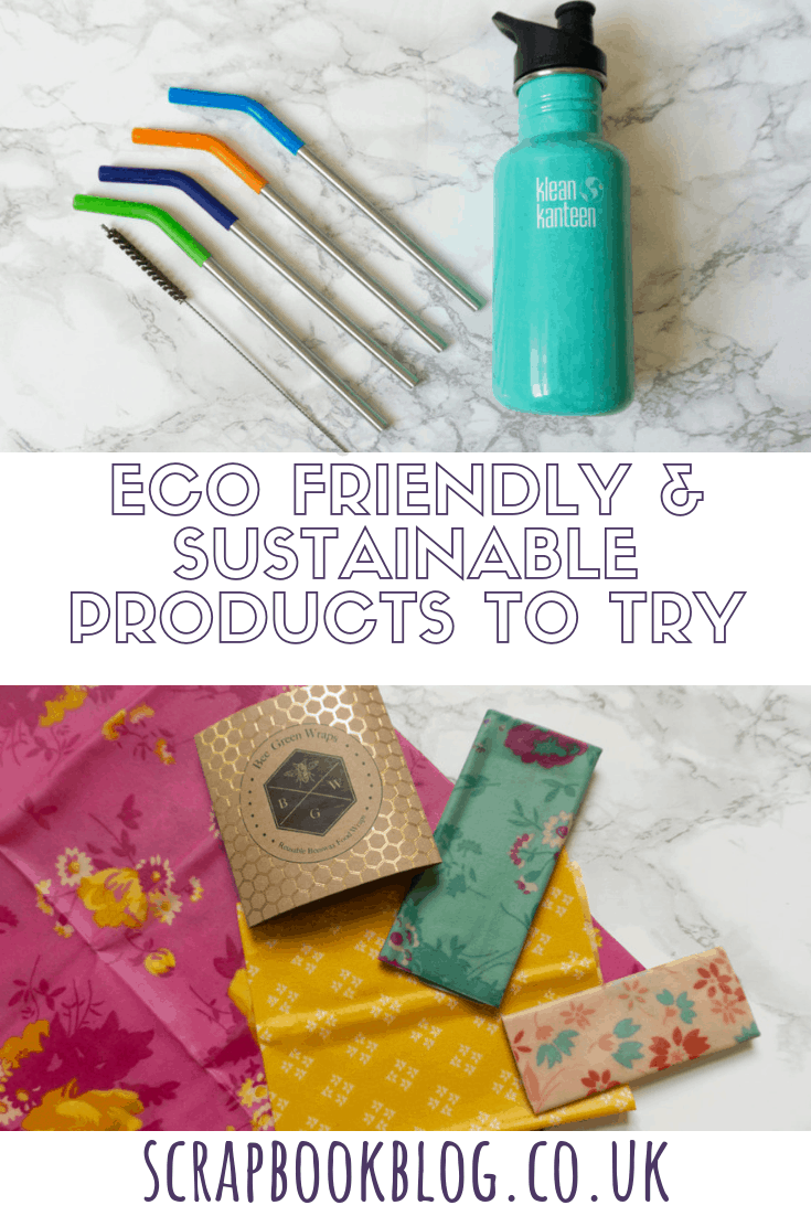 eco friendly and sustainable products to try