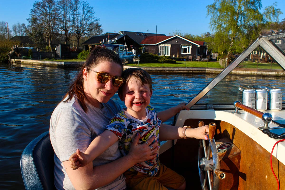 Sunday Scrapbook – Easter on the Boat