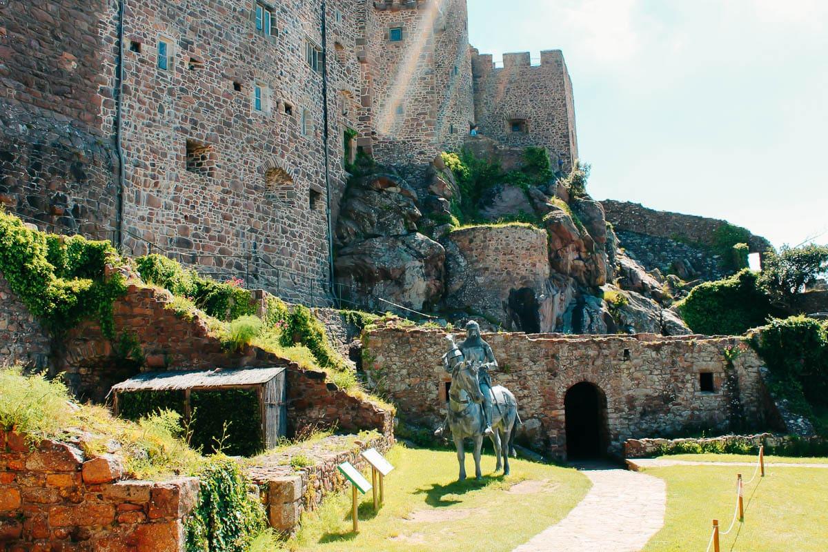 Mount Orgueil Castle Jersey-2