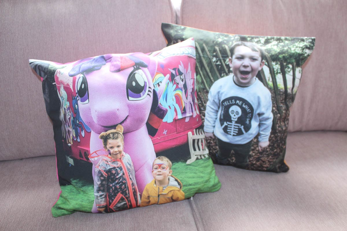Photo cushion my-picture.co.uk