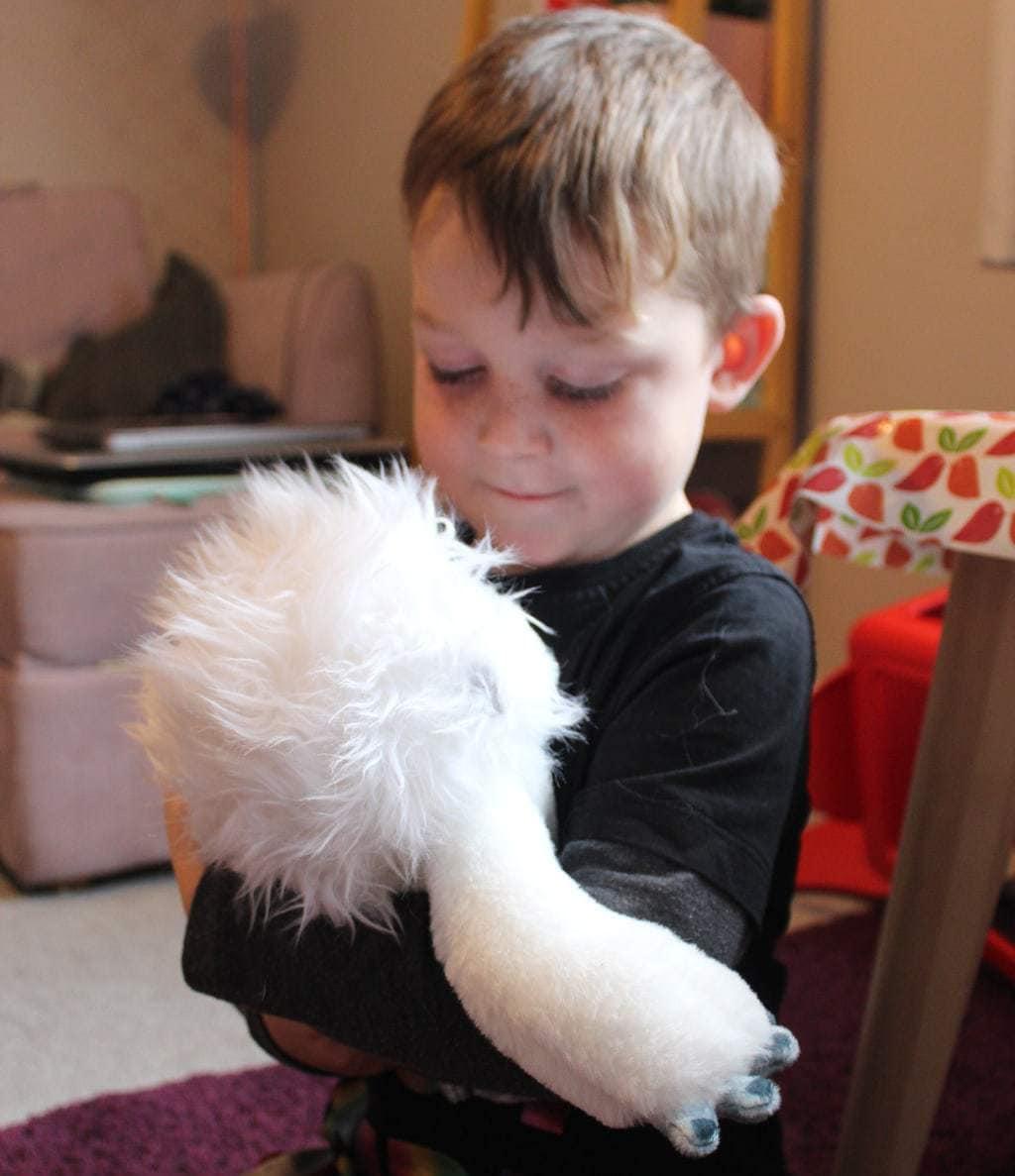 abominable everest plush toy