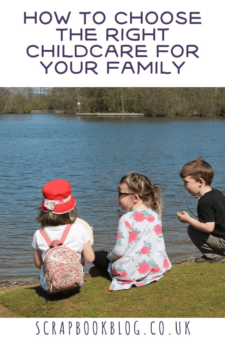 how to choose the right childcare for your family