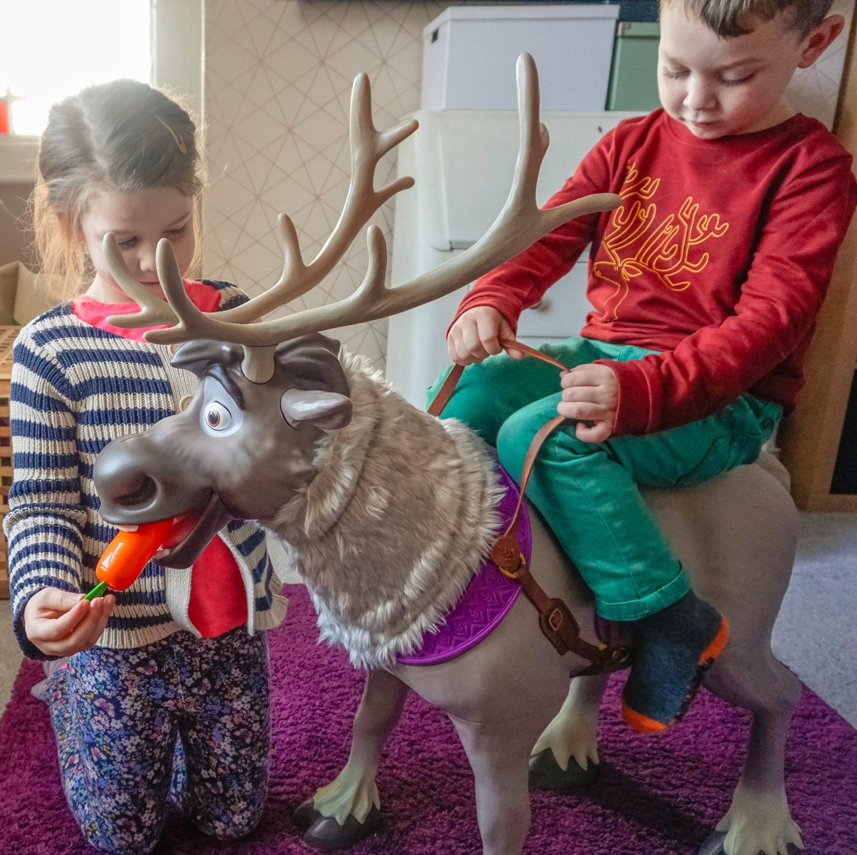Frozen 2 Sven reindeer review