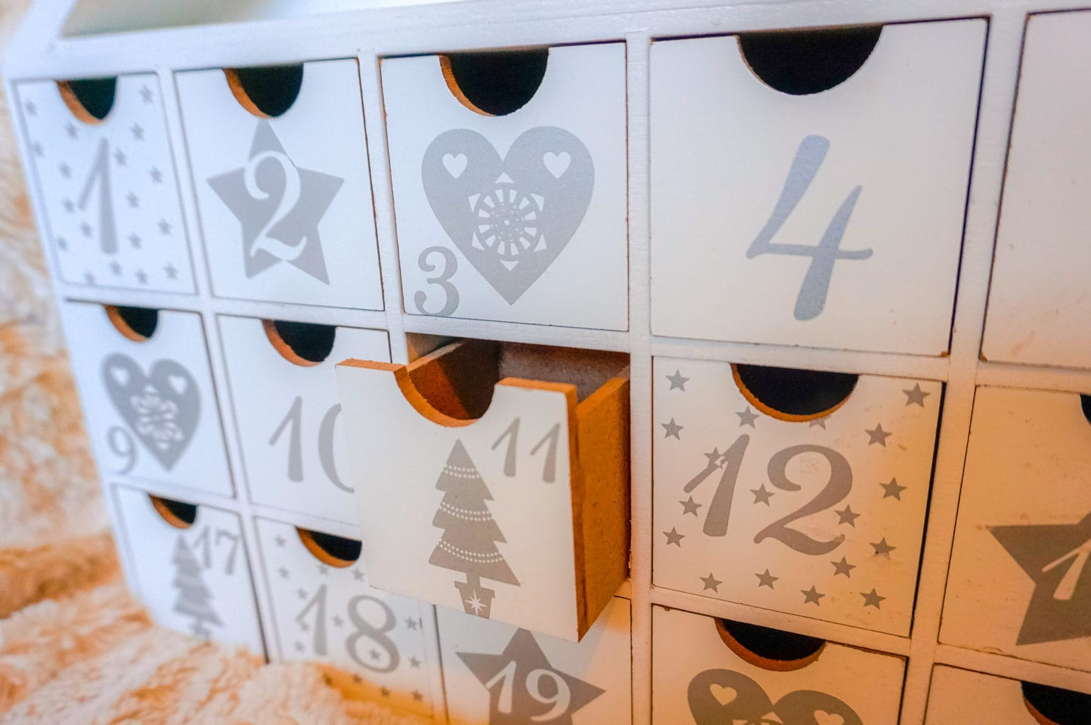 Sue Ryder Wooden Advent Calendar