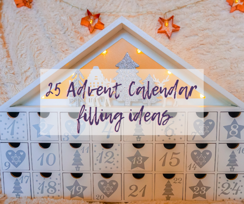 advent calendar filling ideas