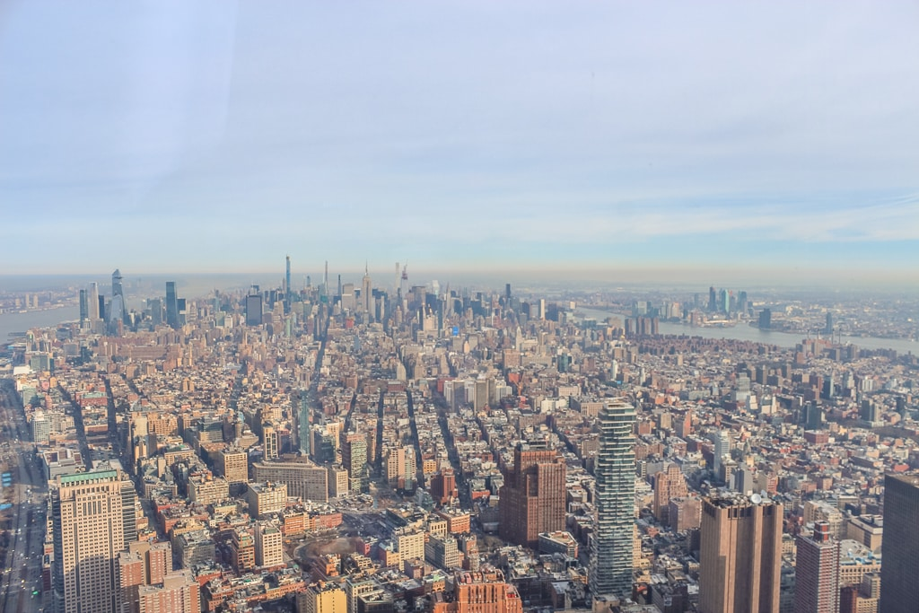 view form one world observatory