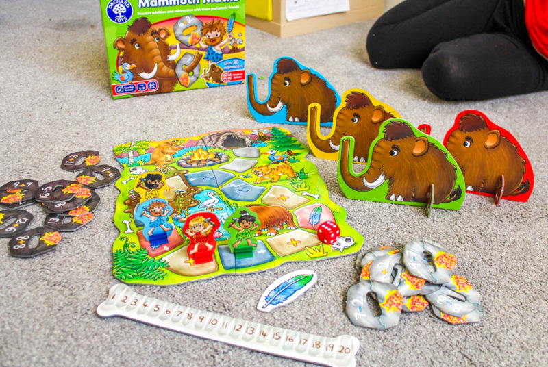 Mammoth Maths from Orchard Games review
