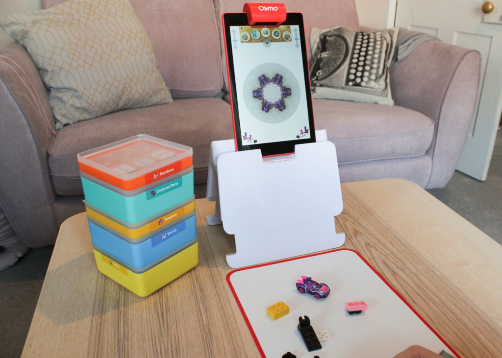 Playing with Osmo kaleidoscope