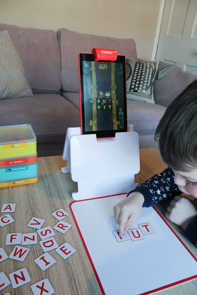 Playing with Osmo spellings