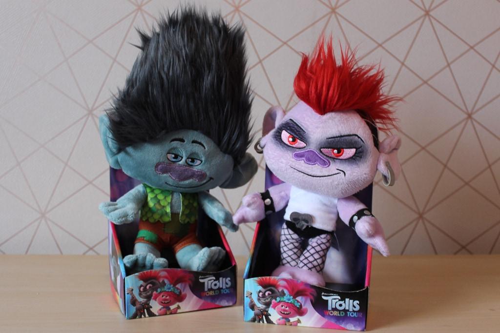 Trolls 2 plush toys
