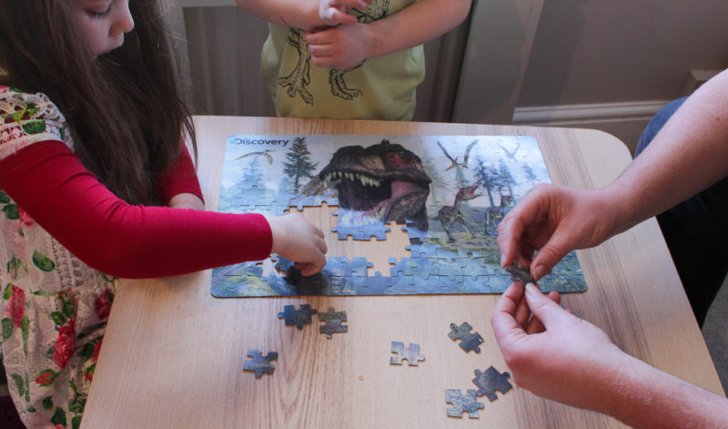 3d dinosaur discovery puzzles