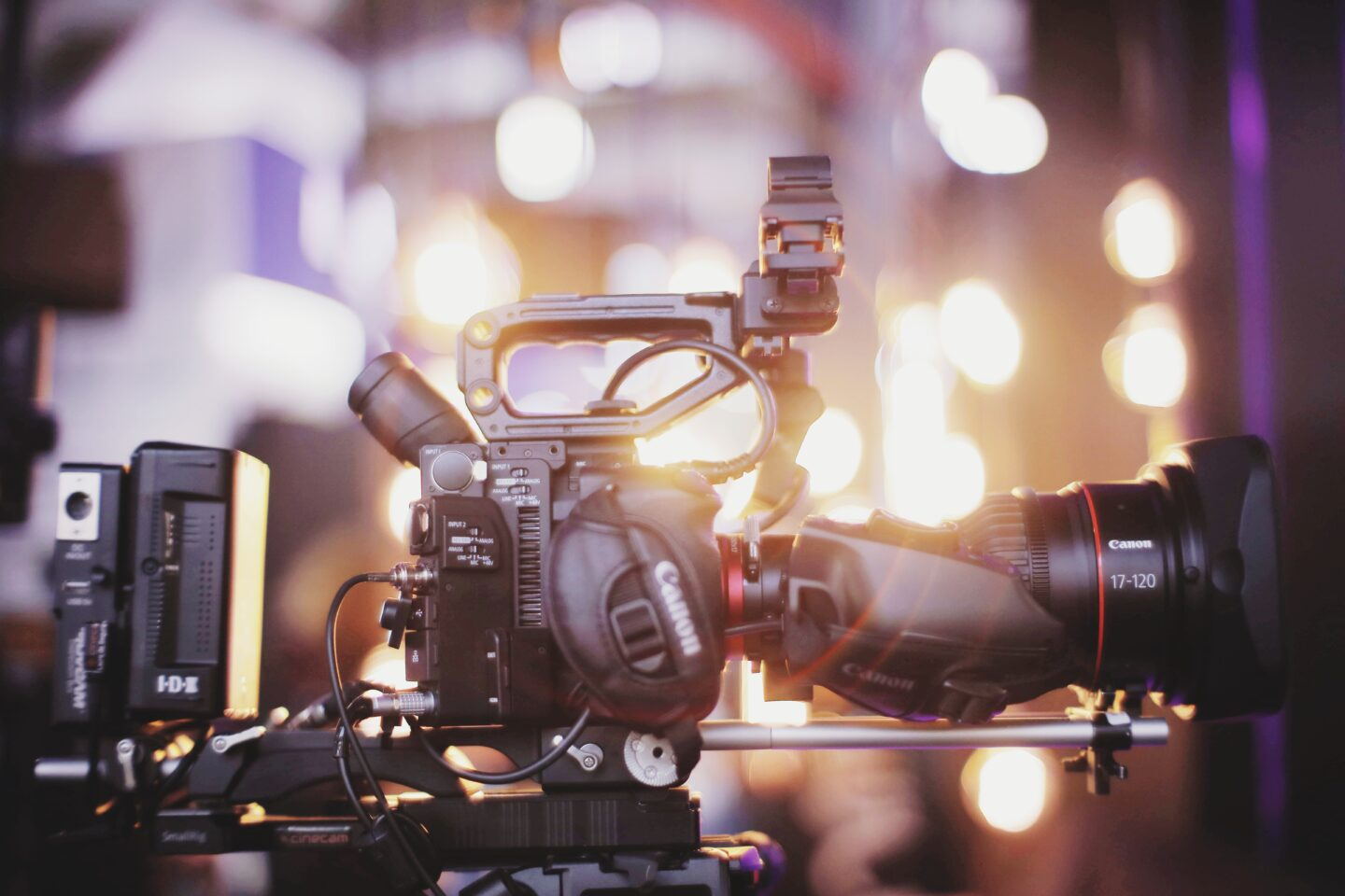 changes in the film industry - film camera