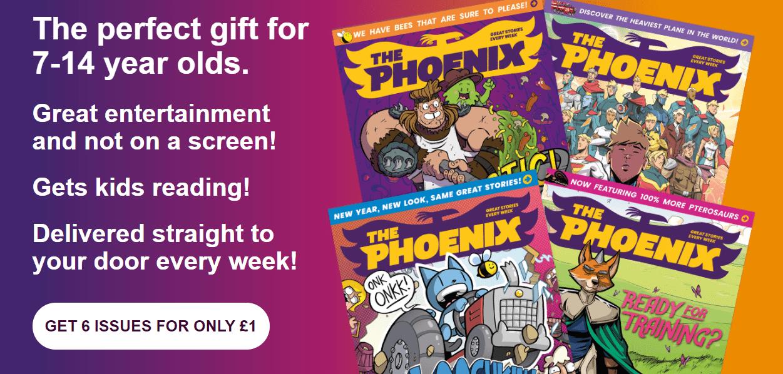 phoenix comic review