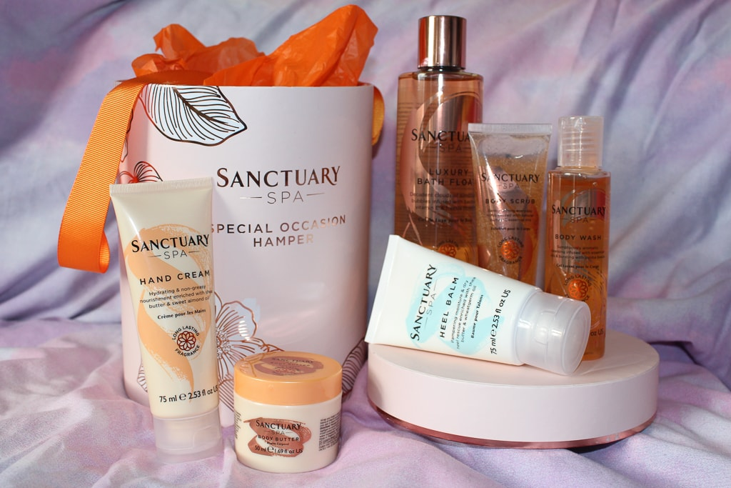 sanctuary spa gift set from moonpig