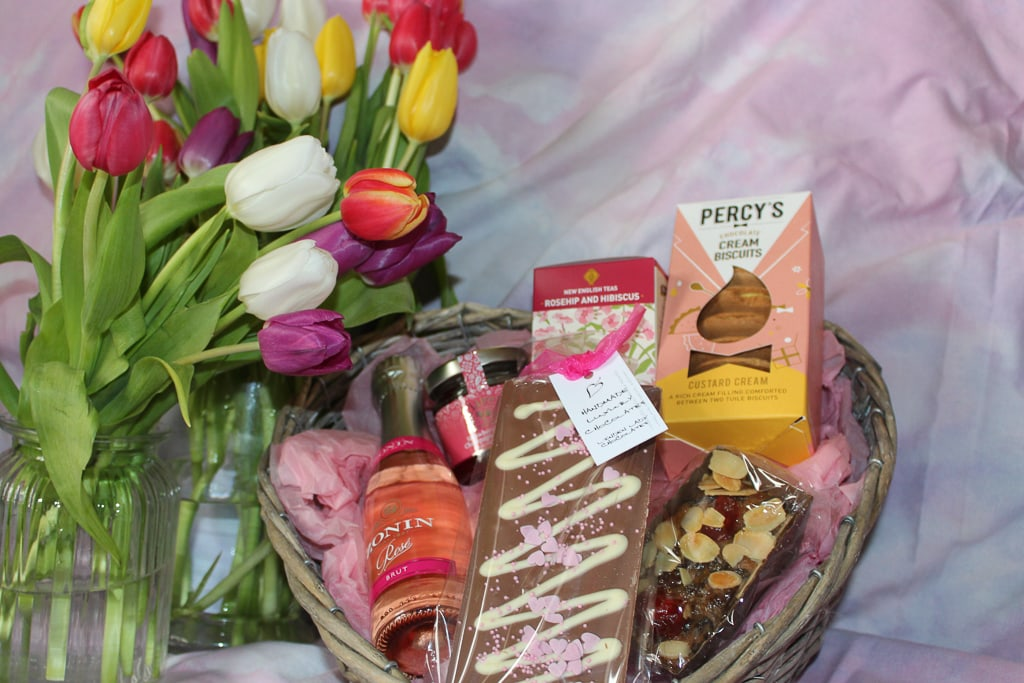 Treat hamper from Moonpig